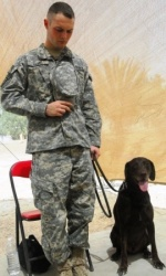 Fallen 94th Engineer search dog team remembered as first team killed in Iraq