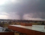 Tornado strikes Fort Leonard Wood; civilian firefighters called for help