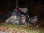 Two airlifted from Saturday night Highway H crash