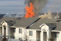Firefighters knock down blaze in Point Lookout Apartments